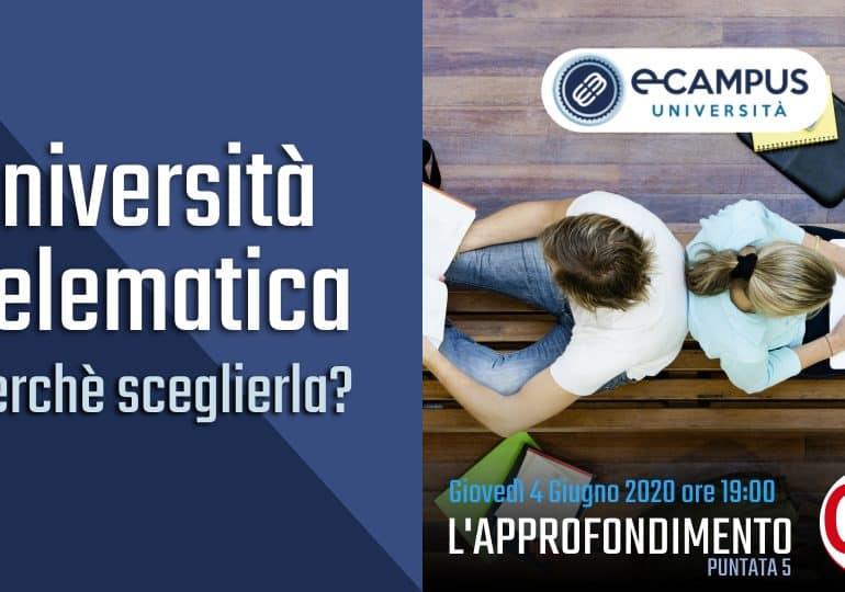 """Quinta Puntata del 04 giugno de """"L'Approfondimento di OD"""" - Tema Università Telematica: perché sceglierla"""